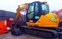 8T Excavator Hire